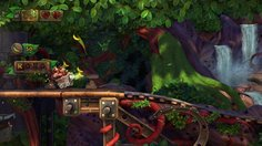 Donkey Kong Country: Tropical Freeze_Wagon ride