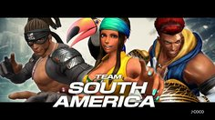 The King of Fighters XIV_Team South America Trailer