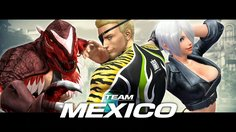 The King of Fighters XIV_Team Mexico Trailer