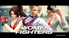 The King of Fighters XIV_Team Women Fighters Trailer