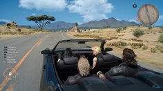 Final Fantasy XV_Car ride