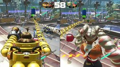 ARMS_2 VS 2 - Mechanica & Twintelle vs Byte & Barq & Spring Man