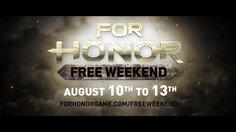 For Honor_Free Weekend Trailer