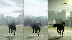 Shadow of the Colossus_PSX 2017: Comparison Trailer