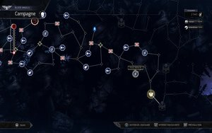 Space Hulk: Tactics_Campaign map - Humans (FR)