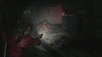 Resident Evil 2_Licker Battle Gameplay