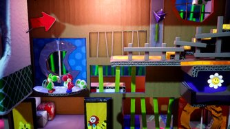 Yoshi's Crafted World_Preview Gameplay Coop