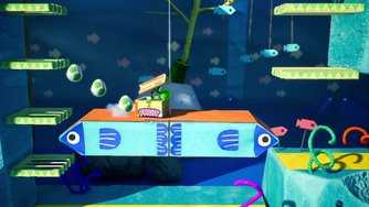 Yoshi's Crafted World_Many Fish in the Sea