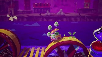 Yoshi's Crafted World_Pirate Pier - Boss