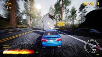 Dangerous Driving_Gameplay XB1X - 4K