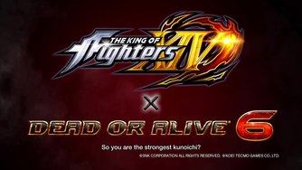 Dead or Alive 6_The King of Fighters Character Reveal