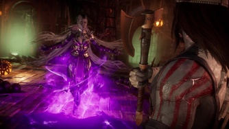 Mortal Kombat 11_Sindel Gameplay Trailer