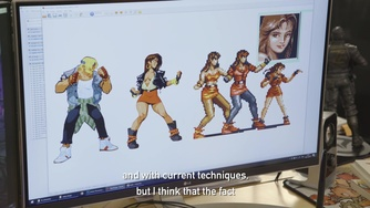 Streets of Rage 4_Behind the Art