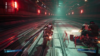 Final Fantasy VII Remake_PS4 Pro - SPOIL Motorcycle Chase