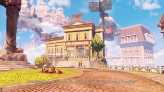 BioShock Infinite_BioShock Infinite - Switch Gameplay