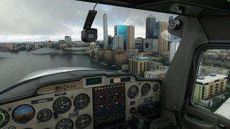 Microsoft Flight Simulator_Original London vs. update pack (4K/80%/ultra)