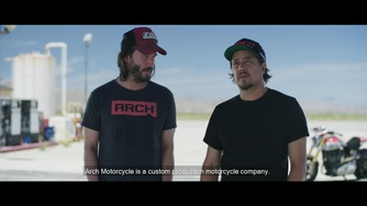 Cyberpunk 2077_Behind the Scenes: Arch Motorcycle with Keanu Reeves and Gard Hollinger