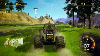 Monster Jam Steel Titans 2_Gameplay PS4 sur PS5