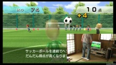 Wii Fit_Football (picture in picture)