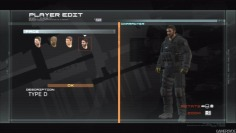 Metal Gear Online_MGO Beta: Character creation