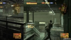 Metal Gear Online_Two different viewpoints