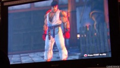 Street Fighter IV_TGS08: Gameplay off-screen (no sound)