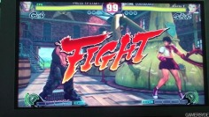 Street Fighter IV_TGS08: Gameplay #2 off-screen (no sound)