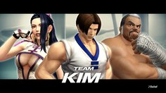 The King of Fighters XIV_Team Kim Trailer