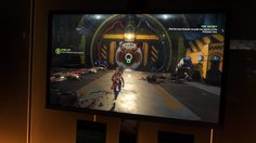 ReCore_GC: Offscreen gameplay