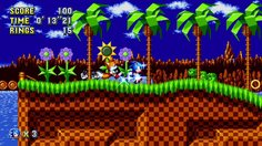 Sonic Mania_Green Hill Zone - Act 1