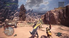 Monster Hunter: World_Escort mission (PC/1440p)