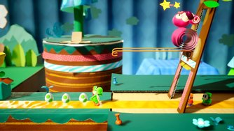 Yoshi's Crafted World_Preview Gameplay 1