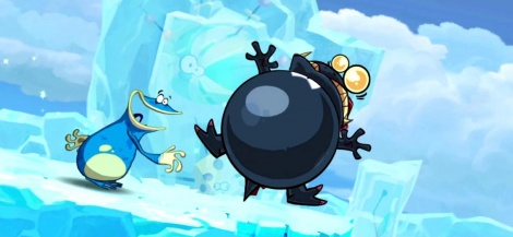 10 ways to bubble in Rayman Origins