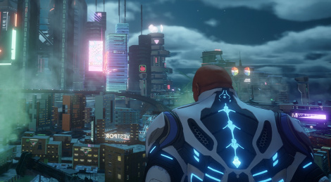 4K HDR video of Crackdown 3 on XB1X