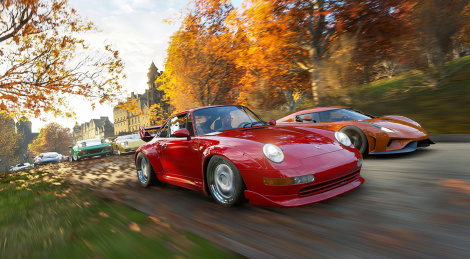 4K HDR video of Forza Horizon 4