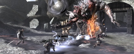 Screenshots of Soul Sacrifice
