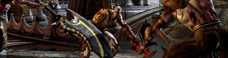 A few images of God of War 3