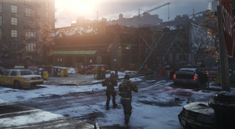 A few screens of The Division