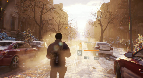 A look at The Division on Xbox One X