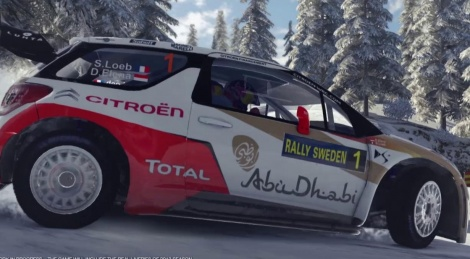 A snowy trailer for WRC4
