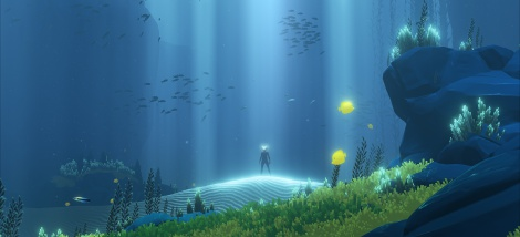 Abzû trailer and screens