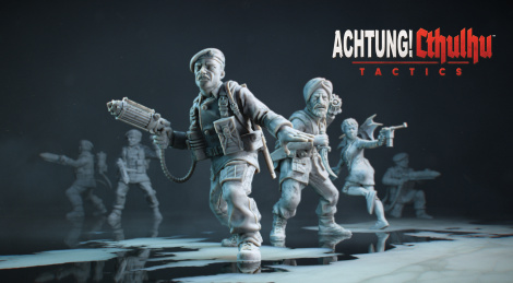 Achtung! Cthulhu Tactics now available
