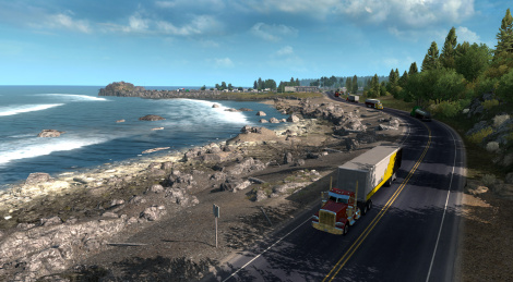 American Truck Simulator in Oregon