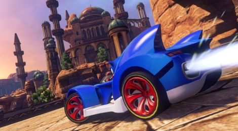 Annonce : Sonic & All-Stars Racing Transformed