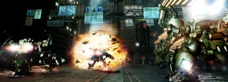 Armored Core V screens