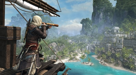 Assassin's Creed 4 images at sea