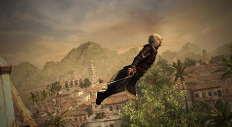 Assassin's Creed IV launches itself