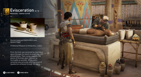 Assassin's Creed Origins brings History lessons
