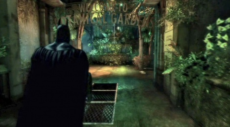 Batman Arkham Asylum: combat et grappins