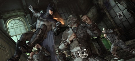 Batman Arkham City: PC screens